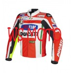 NICKEY HAYDEN DUCATI CORSE MOTORBIKE MOTOGP MOTORCYCLE RACING LEATHER JACKET