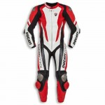 DUCATI CORSE MOTORBIKE 100% COWHIDE LEATHER SUIT RACING BIKER SUIT CE ALL