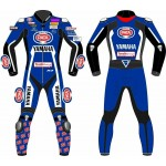 Yamaha PATA 2019 One Piece Motorbike Racing Leather Suit For Men's all Size
