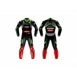 Jonathan Rea Ninja MotoGp WSBK 2018 Motorbike Leather suit Custom made