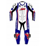 MOTORBIKE/MOTORCYCLE SRR CUSTOM MADE COWHIDE LEATHER SUIT RACING SUIT MOTOGP