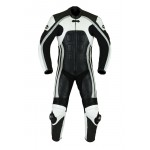 Men,s Motorcycle Motorbike CE Armoured Leather Racing Bikers Suits ONE PCS