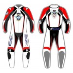 MV Agusta Custom Motorcycle Leather Riding Suit-Motorbike Racing suit MotoGP