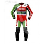 APRILIA RACING MOTORBIKE RACING LEATHER SUIT CE APPROVED