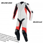MOTORBIKE/MOTORCYCLE 1PC CUSTOM MADE COWHIDE LEATHER SUIT RACING SUIT
