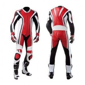 2018-MOTORCYCLE MOTORBIKE RED CUSTOM MADE SUIT COWHIDE LEATHER RACING SUIT ALL SIZES