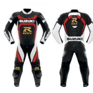 Suzuki GSXR Motorbike Racing Leather Suit Racing Motorcycle Leather Suit