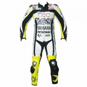 Yamaha Petronas Motorcycle Leather Riding Suit-Motorbike Racing suit MotoGP
