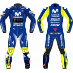 Yamaha Movistar Motorcycle Leather Riding Suit-Motorbike Racing suit MotoGP/Motorcycle suit