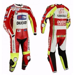 Motorcycle Leather ducati corse Riding Suit-Motorbike Racing suit MotoGP