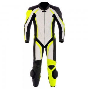 Honda San Carlo Motorcycle Leather Riding Suit-Motorbike Racing suit MotoGP