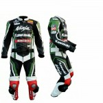 kawasaki Ninja Motorcycle Leather Riding Suit-Motorbike Racing suit MotoGP