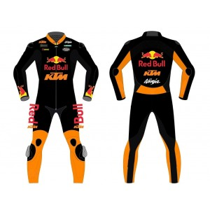 KTM Custom Motorcycle Leather Riding Suit-Motorbike Racing suit MotoGP