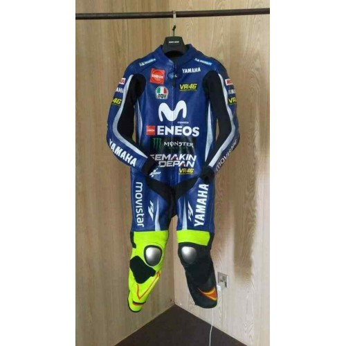 Yamaha Movistar MotoGP 2019 Motorbike Leather Racing Suit All Sizes Available