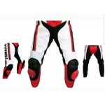 Yamaha Motorcycle Leather Pant-Motorbike Riding Trouser-MotoGp