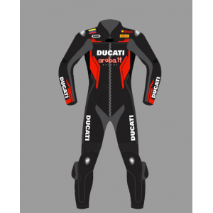 Ducati Corse Motorbike  Leather Racing  Motorcycle Suit  2021