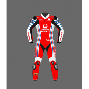 Jack Miller Ducati Motorbike  Leather Rcing Suit  2021