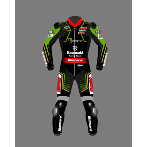 Jonathan Rea KawasakiI WSBK 2021 RACING SUIT Leather Motorbike Suit