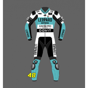 2021 Custom Motorbike suits TZ AT- 16 Leopard suit Leather Racing Suit F
