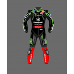 KawasakiI  2021 Racing Team  Leather Motorbike Suit