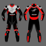 2021 Mv Agusta Motorcycle Racing Leather Suit