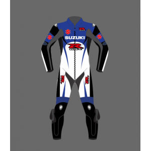 2021 Suzuki Motorcycle Leather  Racing  MotorBike Leather Suit Genuine Leather