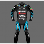 FABIO QUARTARARO YAMAHA PETRONAS RACING SUIT Leather Motorbike Suit 2021