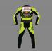 Honda Nastro Azzurro Motorbike MotoGp Custom Made Leather Racing Suit