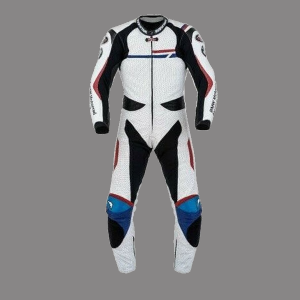 BMW Motorbike Mens-Racing-Biker-Leather-Suit