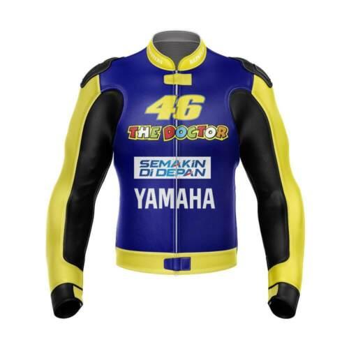 2021  Valentino Rossi  VR46 Yellow Motorcycle Motorbike Jacket