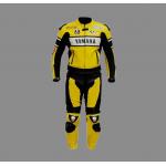 Mens yamaha motorbike style leather suits 2021