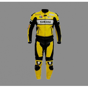 Mens yamaha motorbike style leather suits 2021