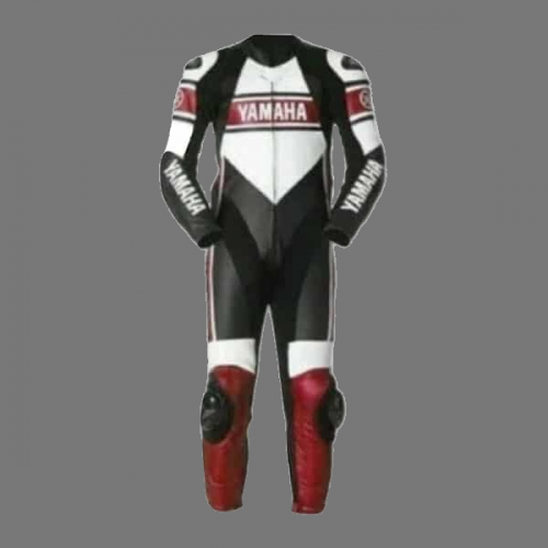 Yamaha New Leather Race Suit Ce Approved Protection 2021