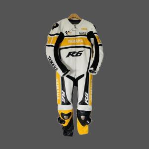 Yamaha R6  Yellow Style 2021 Leather Motogp Racing Suit