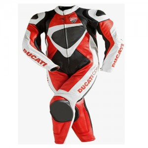 2021 DUCATI RACING MOTORBIKE LEATHER SUIT