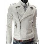 MENS PREMIUM BRANDO STYLE 100% PURE LEATHER RACING JACKET - ALL SIZES