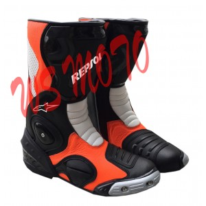 HONDA REPSOL LEATHER MOTORBIKE RACING SHOES,BOOTS/MOTORBIKE LEATHER SHOES