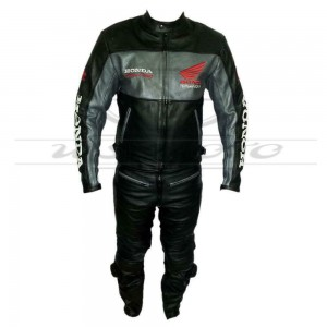 HONDA MOTORBIKE/MOTORCYCLE/MOTOGP LEATHER RACING SUIT