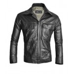 KING OF ROCK ELVIS PRESLEY Real Lamb Leather ELVIS Style Jacket