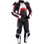MOTORCYCLE & MOTORBIKE LEATHER TRACK RACING SUIT-CE APPROVED PROTECTOR-ALL SIZES