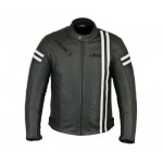 Rksports Speed-2 Mens Fashion Leather Motorcycle Motorbike Jacket with Armour