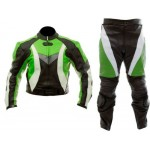 Custom Motorbike Genuine Cowhide Leather Racing Suit CE with Armour's