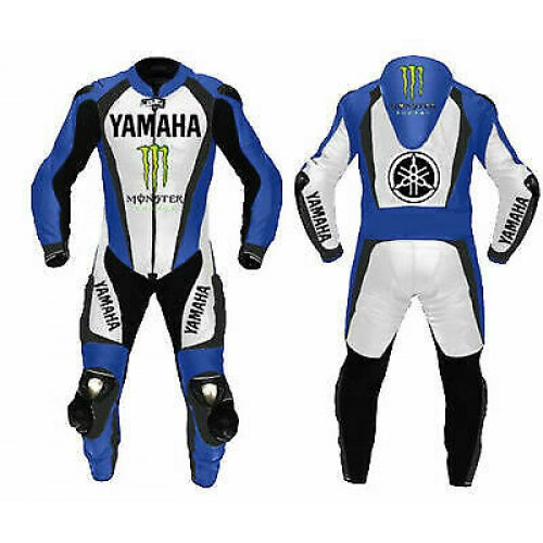 Yamaha Motorcycle Leather Riding Suit-Motorbike Racing suit MotoGP