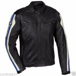 BMW MEN/WOMEN MOTORBIKE COWHIDE LEATHER JACKET RACING MOTORCYCLE LEATHER JACKET