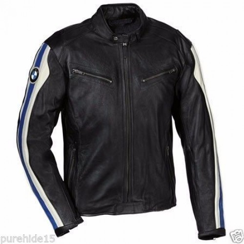 BMW Motorcycle Leather Jacket Racing Bikers Jacket Motorbike Leather Jacket CE