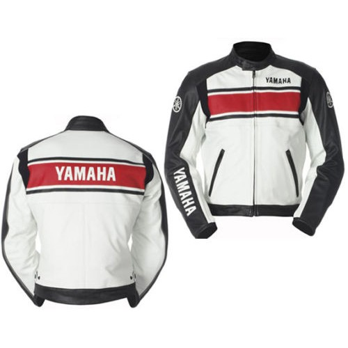 YAMAHA Moto Giacca in pelle Moto Sport Giacca Racing Team Giacca in pelle
