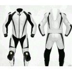 ROAD MASTER W/B MOTORBIKE/MOTORCYCLE RACING LEATHER SUIT: CE APPROVED PROTECTION