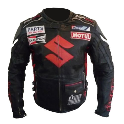 New Suzuki Gsx Motorbike Motorcycle Biker Cowhide Leather Armoured Pant/trouser Men's Clothing