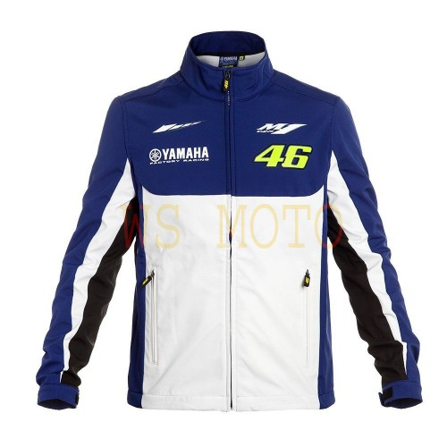 VR 46 YAMAHA  MOTORBIKE,MOTORCYCLE/MOTGP RACING LEATHER JACKET