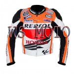 2016 NEW STYLE HONDA REPSOL MOTORBIKE,MOTORCYCLE/MOTGP RACING LEATHER JACKET
